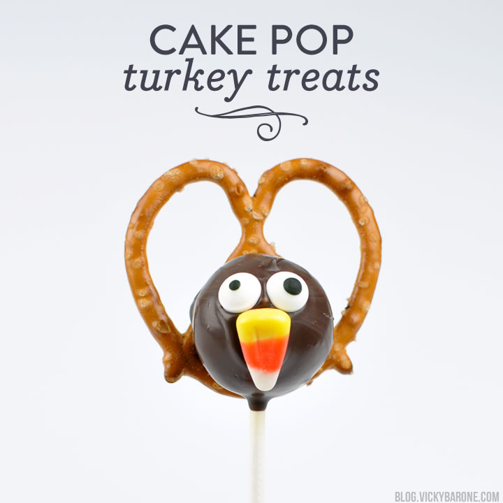 Cake Pop Turkey Treats