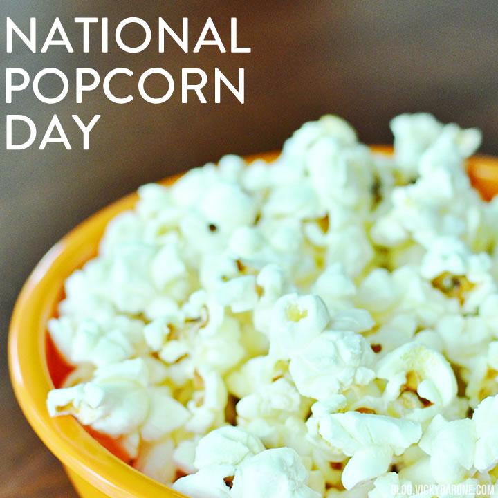 National Popcorn Day!