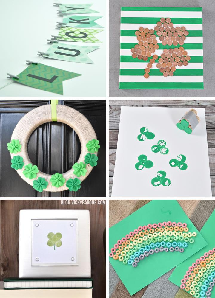 DIY St. Patrick's Day Ideas   Vicky Barone