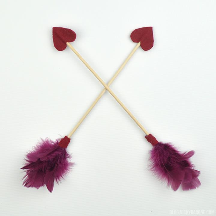 DIY Cupid Arrows   Valentine's Day   Vicky Barone
