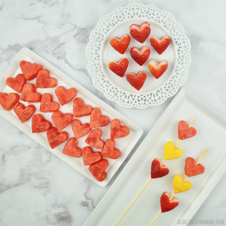 Heart-Shaped Food for Valentine's Day | Vicky Barone