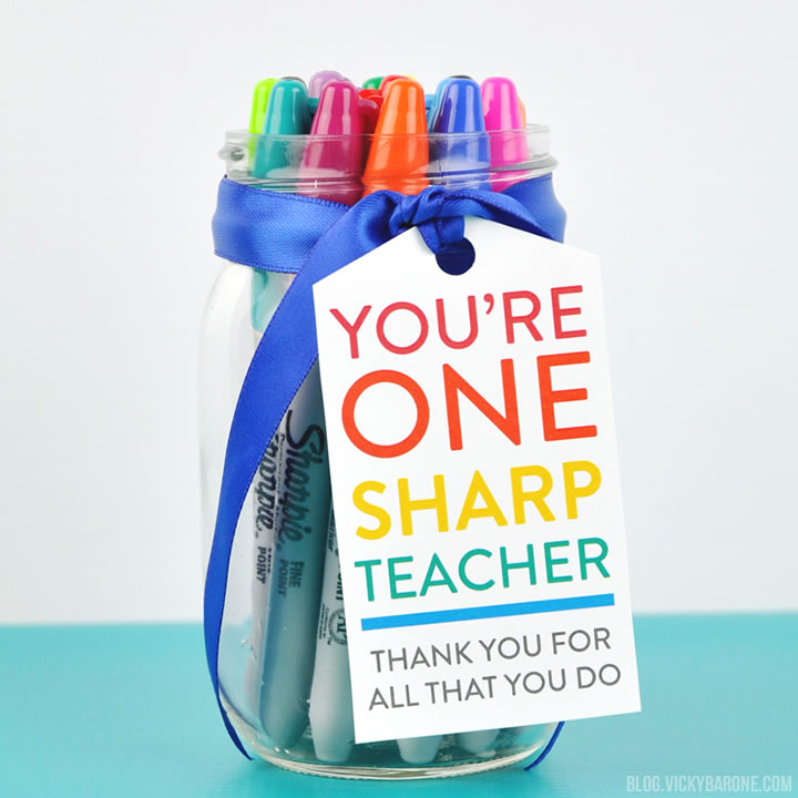 Teacher Appreciation DIY Gift Idea | Vicky Barone