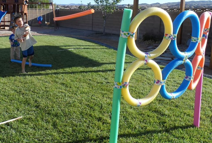 Fun in The Sun: Yard Game DIYs | Vicky Barone | Guest Writer: Tabbie Stark from HomeYou