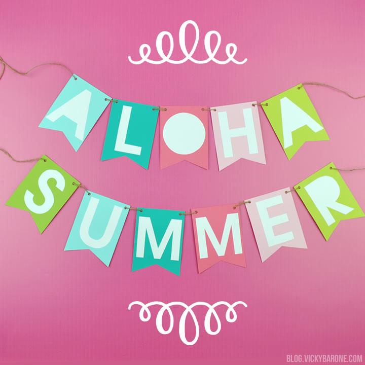 Aloha Summer Banner