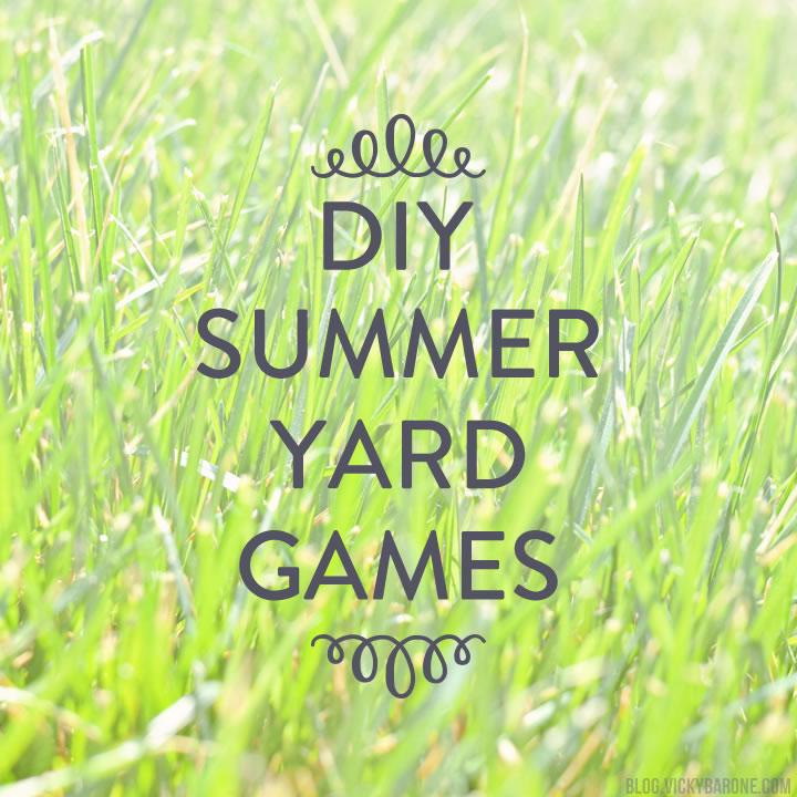Fun in the Sun: Yard Game DIYs