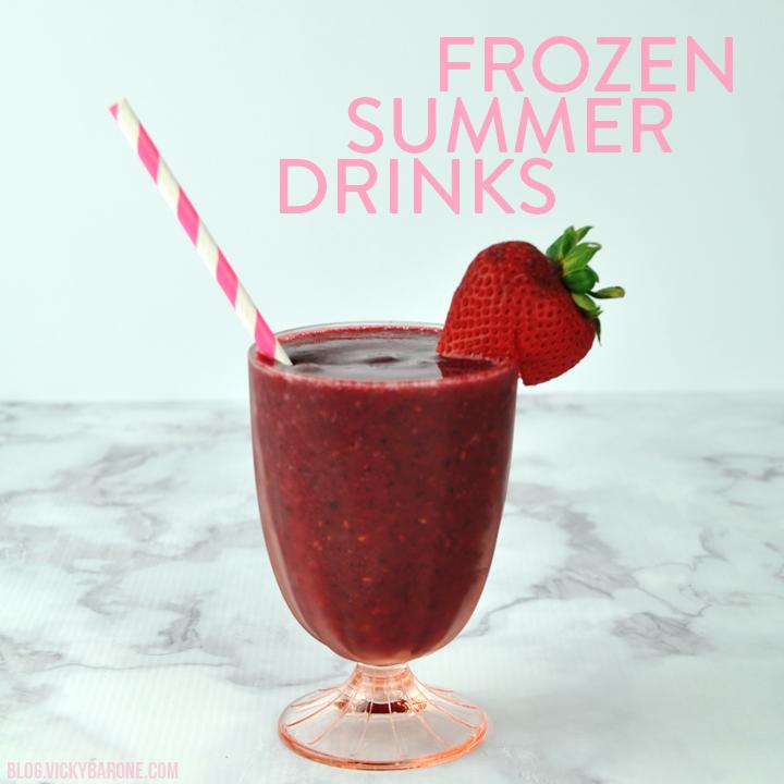 Frozen Summer Drinks