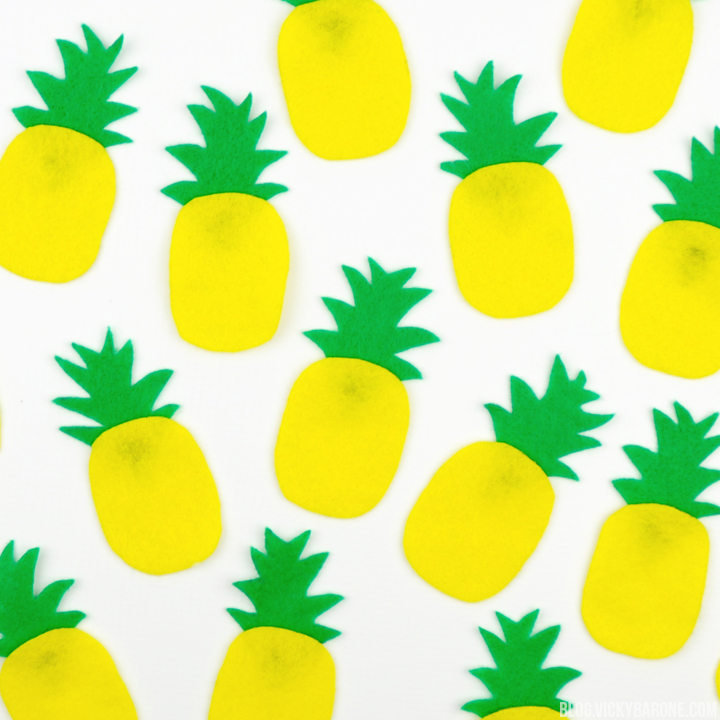 DIY Pineapple Garland | Vicky Barone