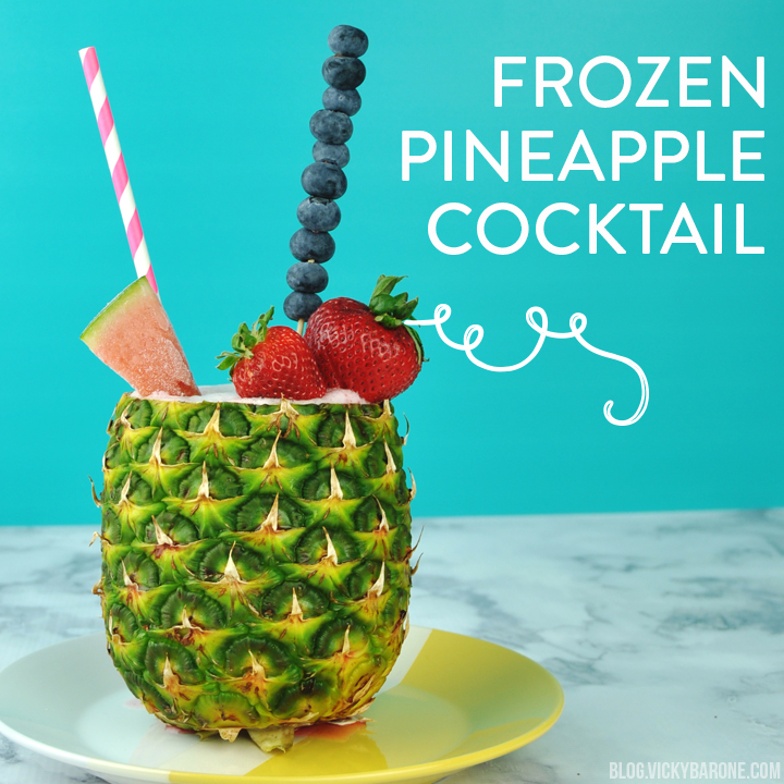 Frozen Pineapple Cocktail