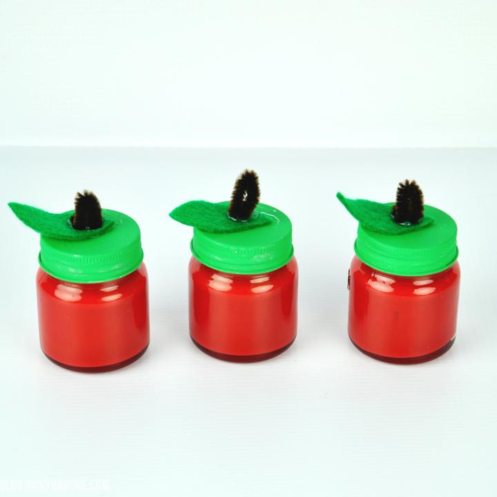 DIY Apple Jars | Back to School | Teacher Gift Ideas | Vicky Barone