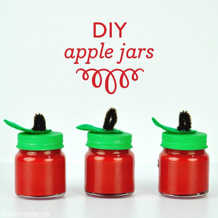 DIY Apple Jars