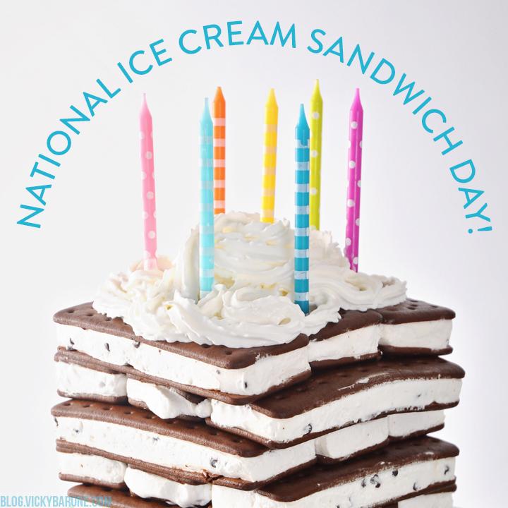 Happy National Ice Cream Sandwich Day!