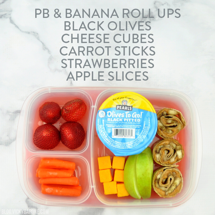 Back to School Lunch Box Ideas with Pearls Olives To Go | Vicky Barone