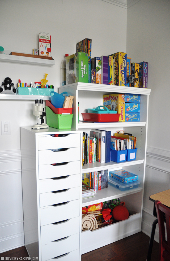 Kid's Art Room Tour | Vicky Barone