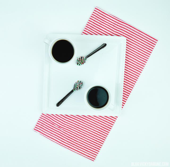 DIY Wilton Chocolate Spoons | Vicky Barone
