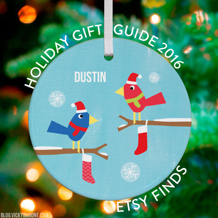 Holiday Gift Guide 2016: Etsy Finds