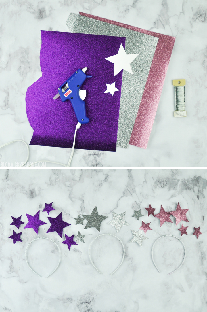 DIY Starry Headbands | Vicky Barone