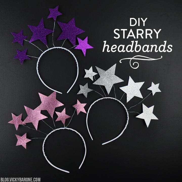 DIY Starry Headbands