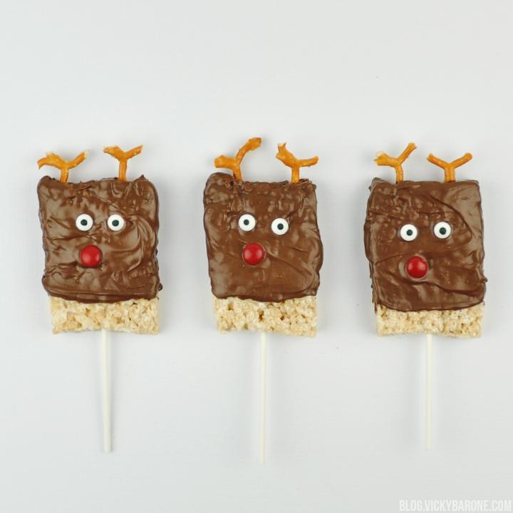 Rice Krispie Christmas Characters | Vicky Barone