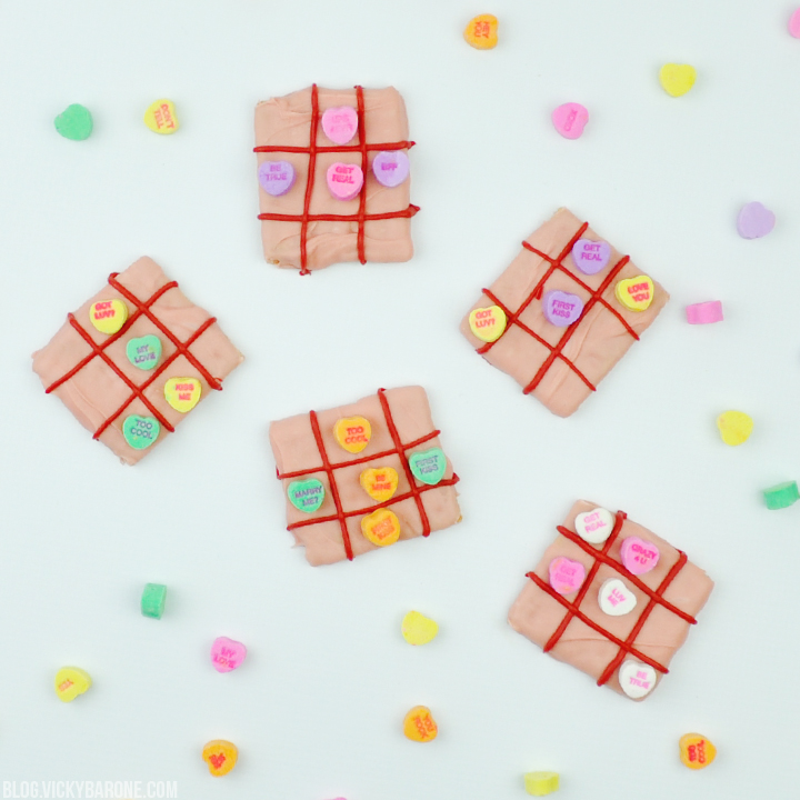 DIY Candy Tic Tac Toe | Vicky Barone